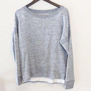 Madewell Grey Sweatshirt Crew neck Medium